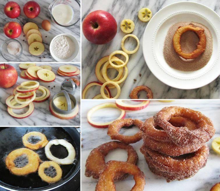 Recipe Fried Apple Rings