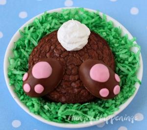 brownie butt bunnies