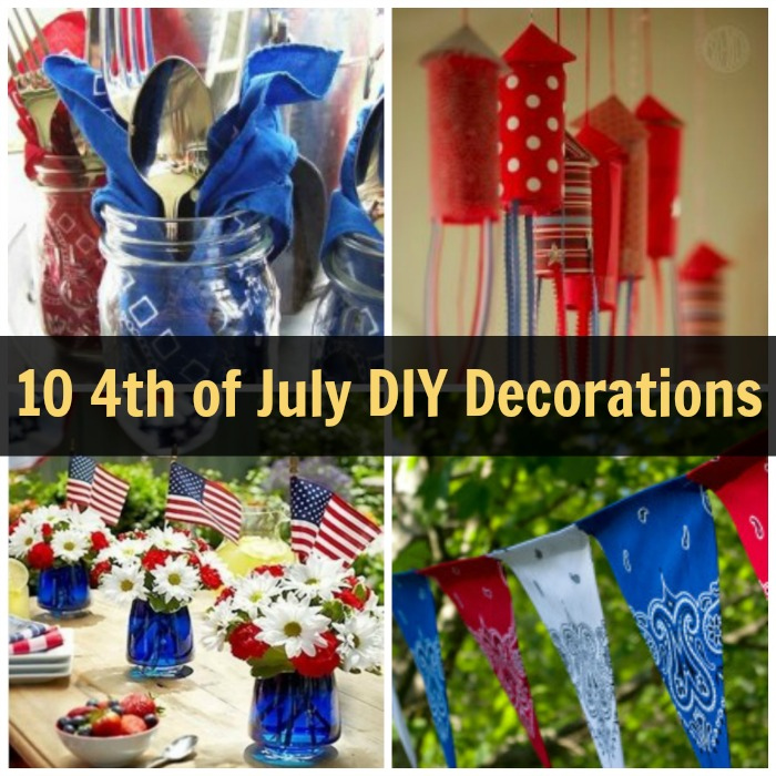 10 4th of july decoration ideas mama bees freebies for 4 of july decorations