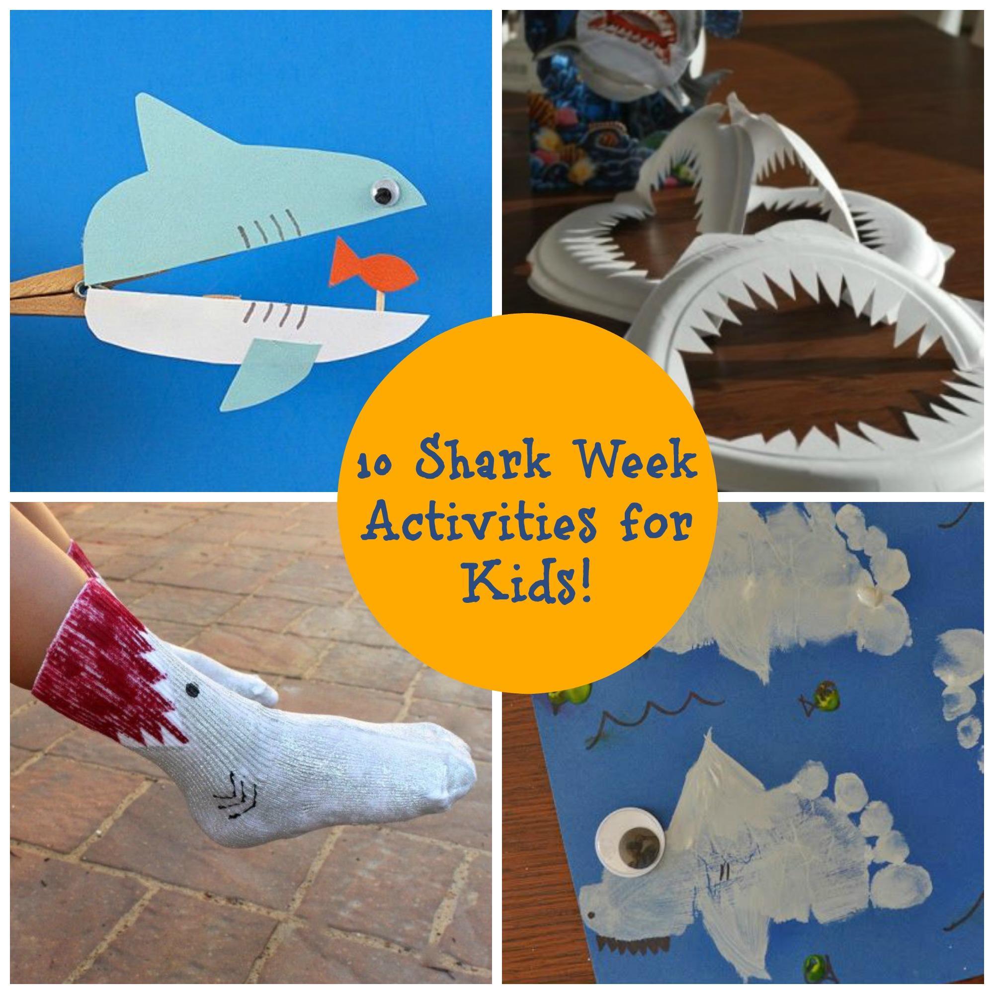 10 shark week activities for kids mama bees freebies