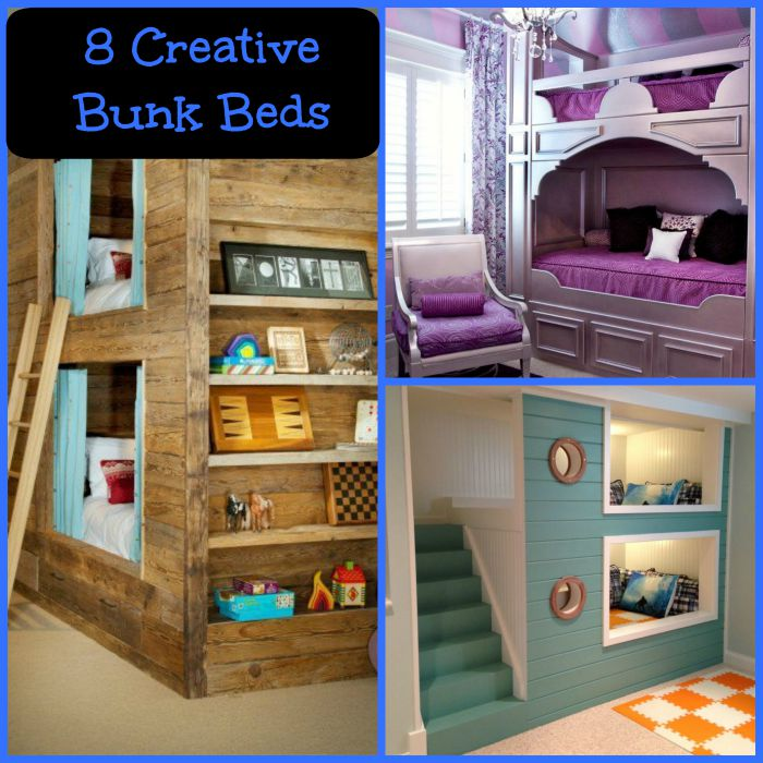 8 Creative Bunk Bed Ideas - Mama Bees Freebies