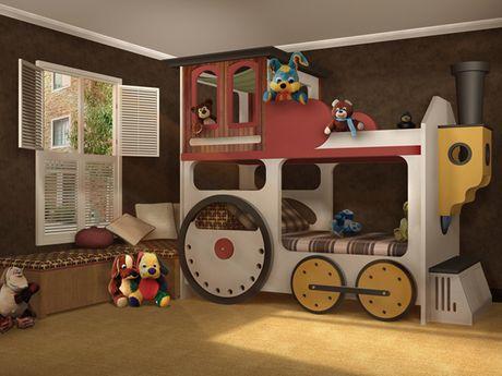 Locomotive Bunk Beds