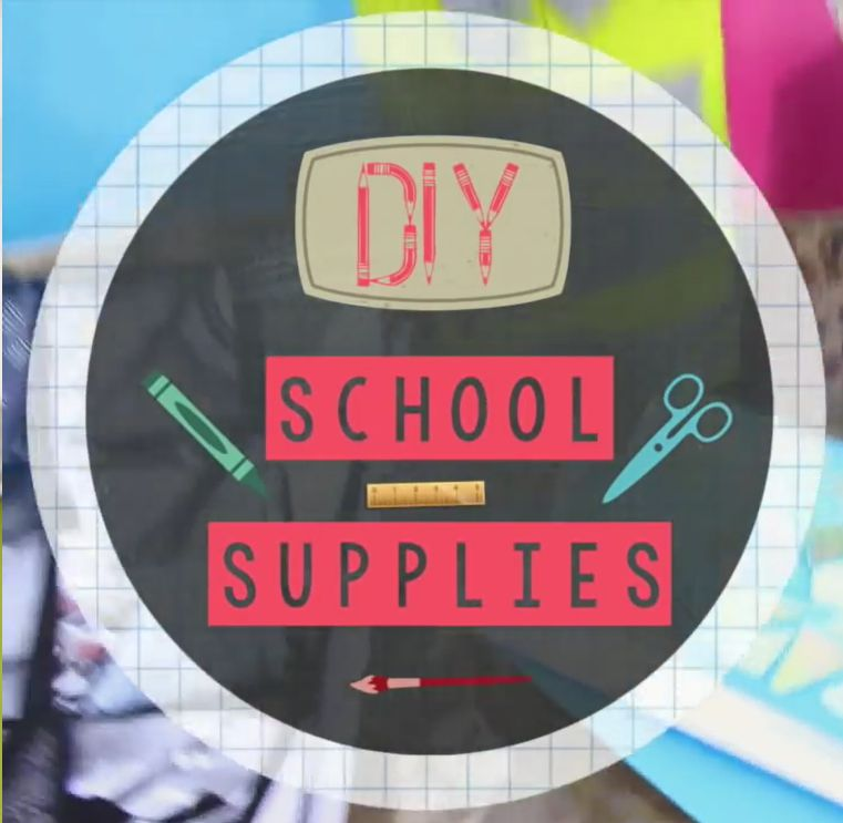 📚 Back to School DIY School Supplies – Video Tutorials