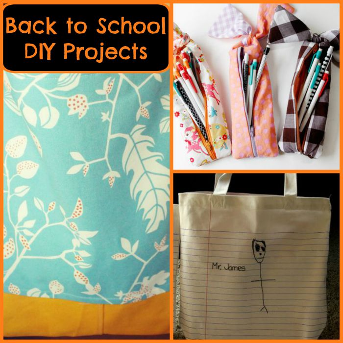 🚌 Back to School DIY Projects