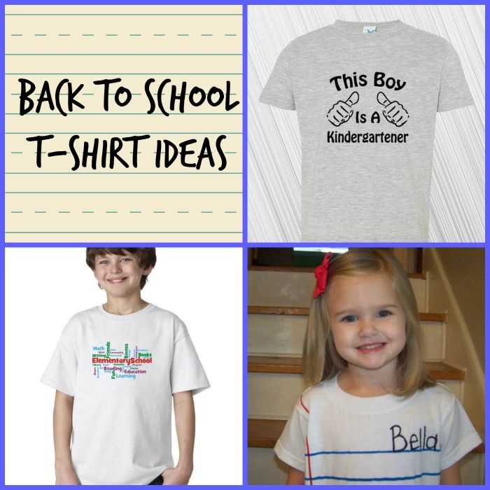 👕 Back to School DIY T-Shirt Ideas