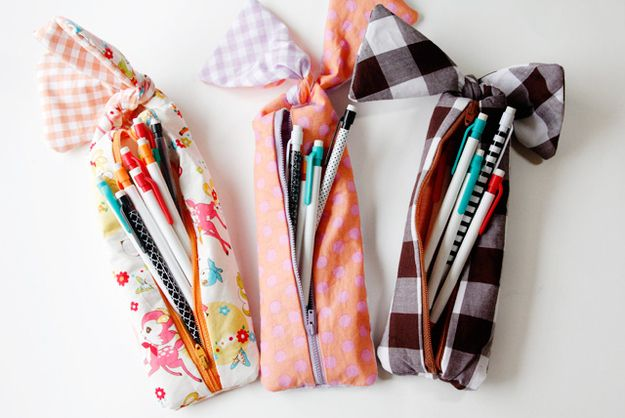bow pencil pouch