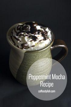 peppermint mocha