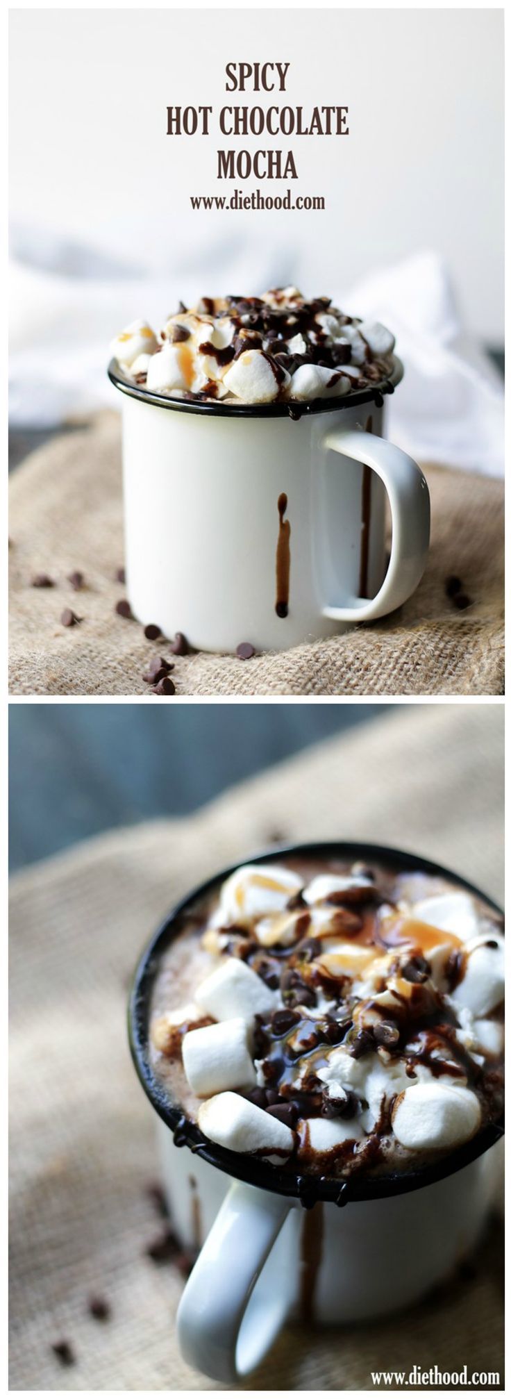 spicy hot chocolate coffee
