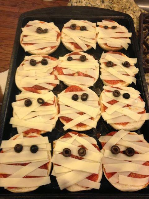 mummy mini pizza