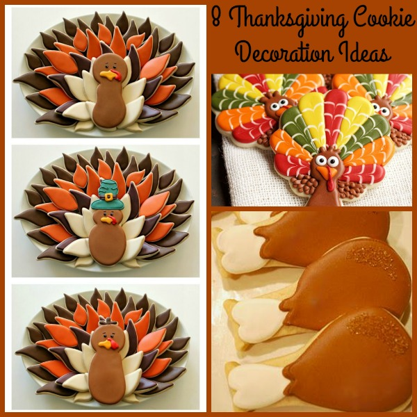 8 Thanksgiving Cookie Decoration Ideas