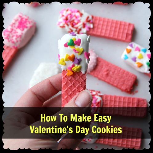 how to make easy valentine 39 s day cookies mama bees freebies