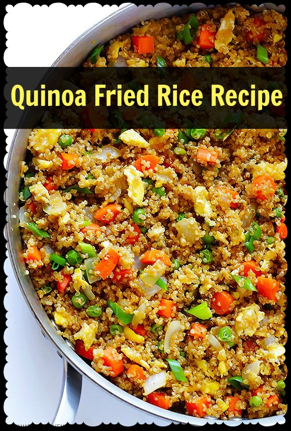 Recipe: Quinoa Fried Rice - Mama Bees Freebies