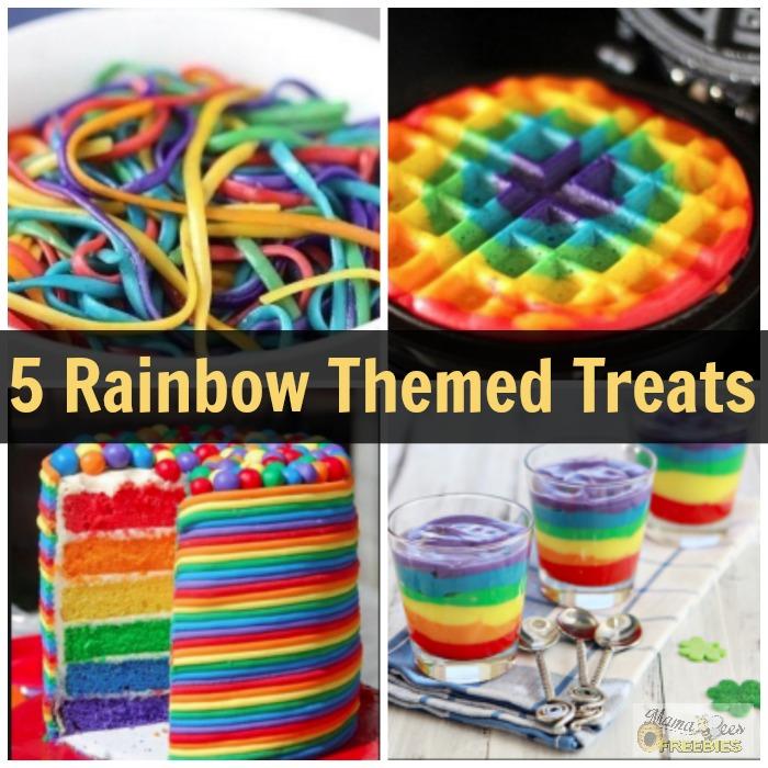 5 Rainbow Themed Treats