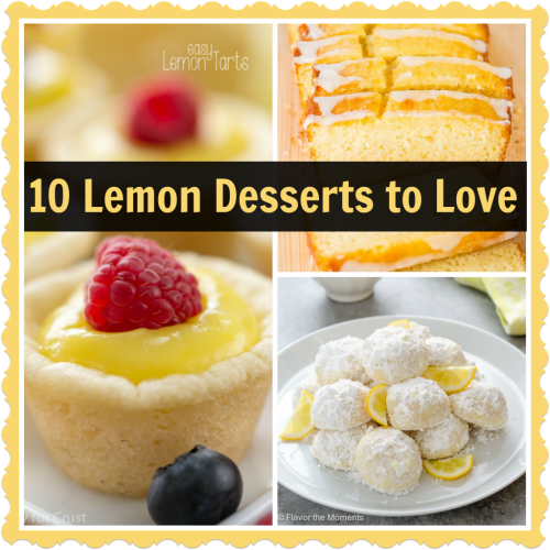 10 Lemon Desserts to Love