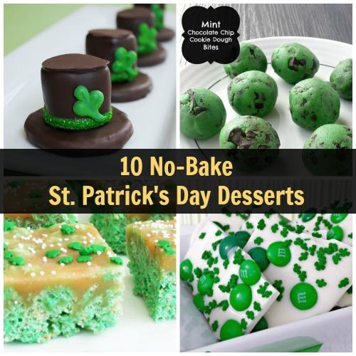 No-Bake St. Patrick's Day Desserts