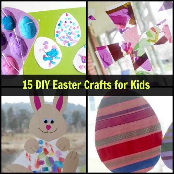 15 DIY Easter Crafts For Kids