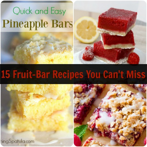 15 Fruit-Bar Recipes You Can't Miss